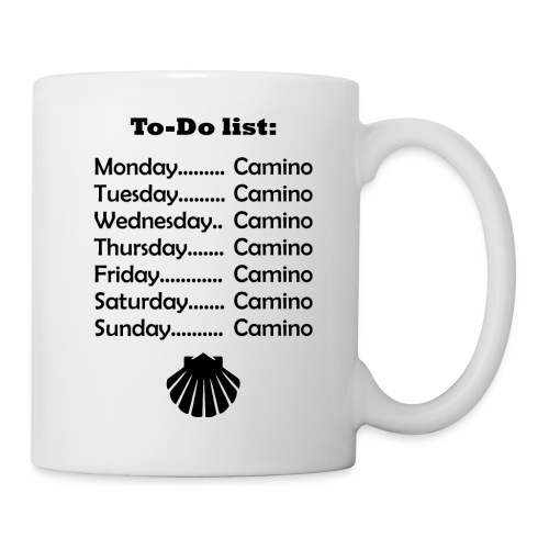 To-do list: Camino - Kop/krus