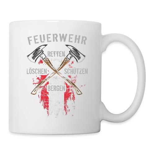 Retten Löschen Bergen Schützen - Tasse
