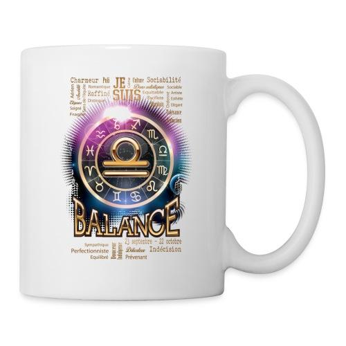 BALANCE - Mug blanc
