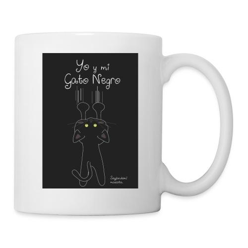 Camiseta gato Negro - Taza