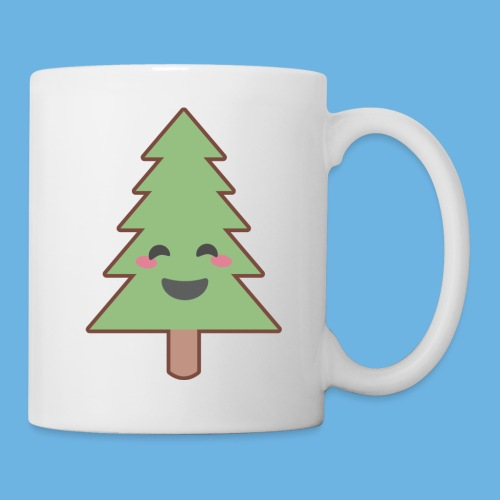 Kawaii Christmas Tree - Mug