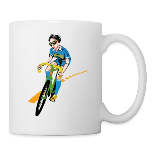 The Bicycle Girl - Tasse
