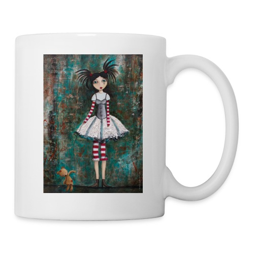 prinsess goth - Mug blanc