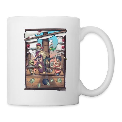 les pirates - Mug blanc