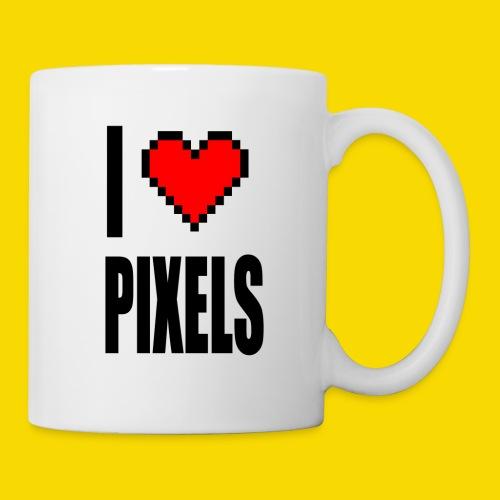 I Love Pixels - Kubek