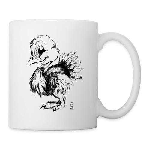 Autruchon - Mug blanc