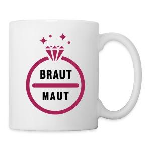 Braut Maut - JGA T-Shirt - JGA Shirt - Party - Tasse