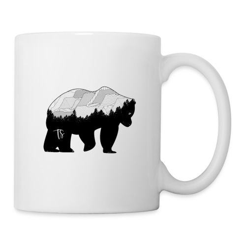 Geometric Mountain Bear - Tazza
