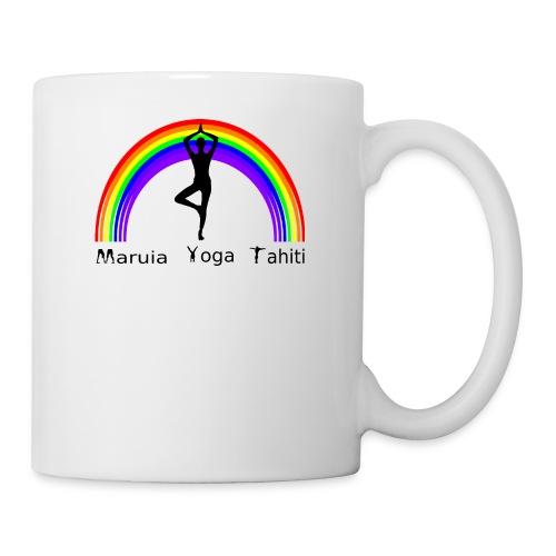 Logo de Maruia Yoga Tahiti - Mug blanc
