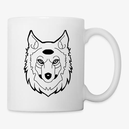 wolf - Mug blanc