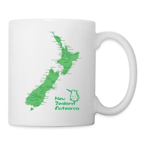 New Zealand's Map - Mug