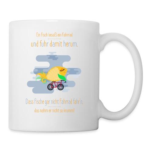 Der Fahrrad-Fisch - Tasse