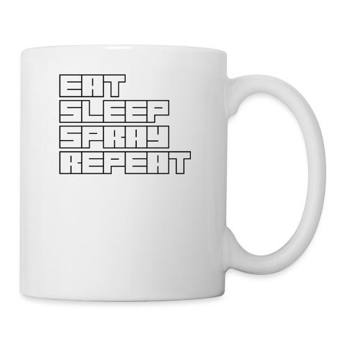 EATSLEEPSPRAYREPEAT - Mug