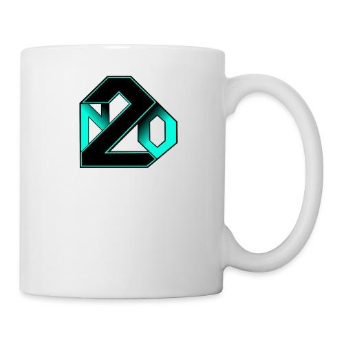 N2O turquoise - Mug blanc