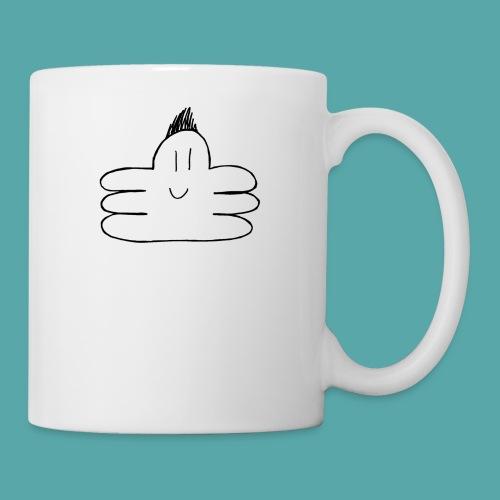 octupus edited black - Mug