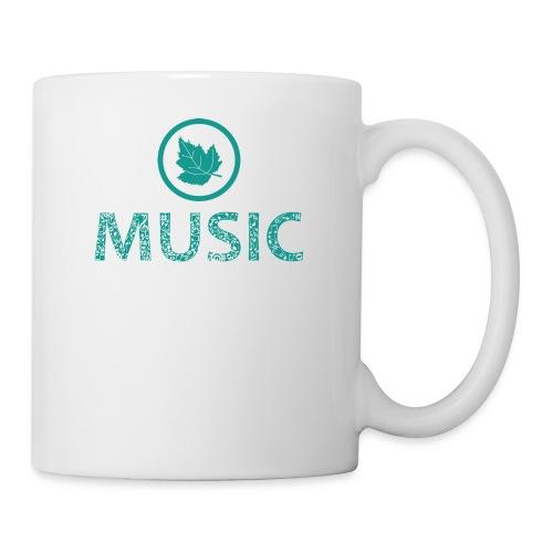 leaf music - Mug