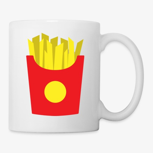 French fries - Mug blanc