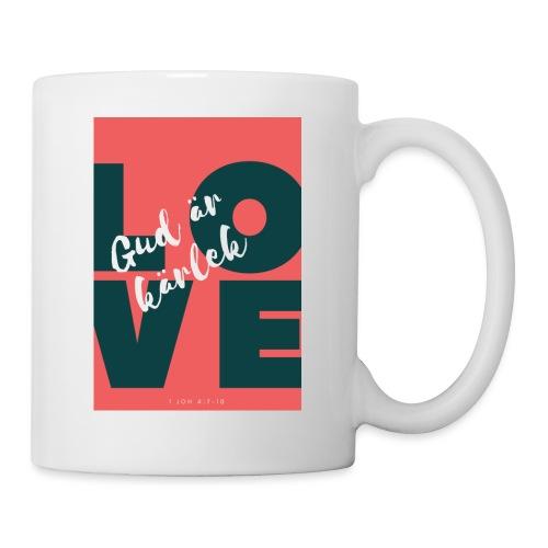 Gud är kärlek - Mugg