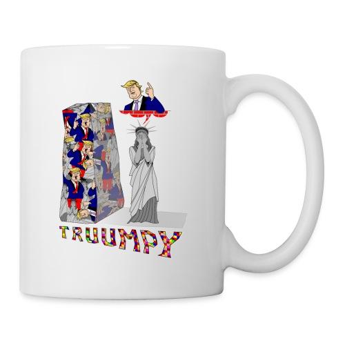truumpy Trump jusqu'où le niveau bas politique FS - Mug blanc