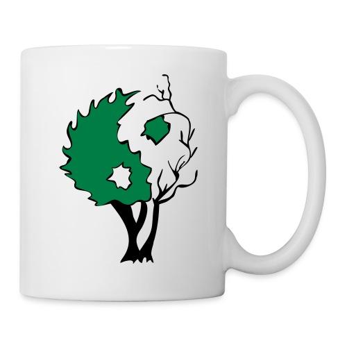 Yin Yang Arbre - Mug blanc