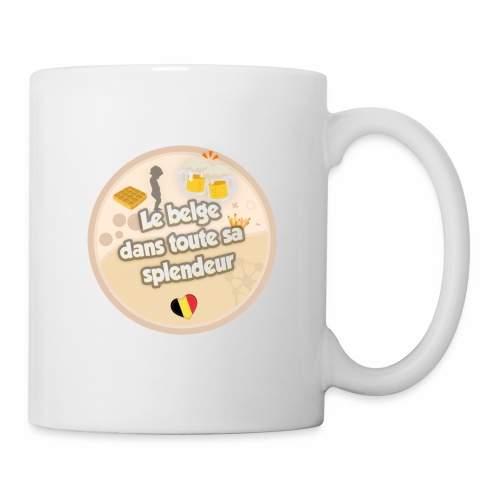 logo Le belge - Mug blanc