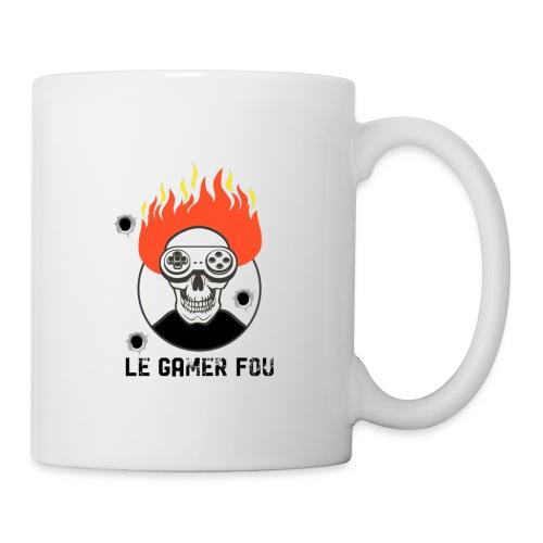 logo mat - Mug blanc
