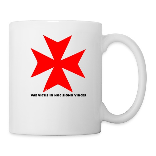 TEMPLIERS NOIR - Mug blanc