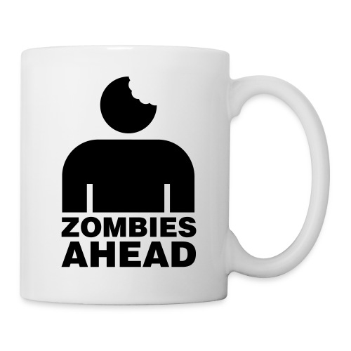 Zombies Ahead - Mugg