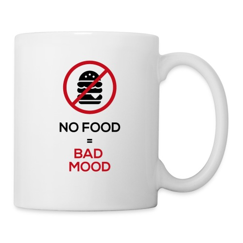 No food equals bad mood - Mug