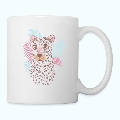 80s Pastel Color Cat - Mug