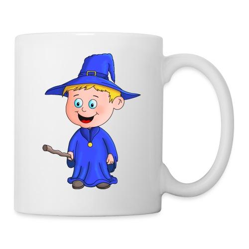 Kleiner Zauberer liebt die Zauberei - Tasse