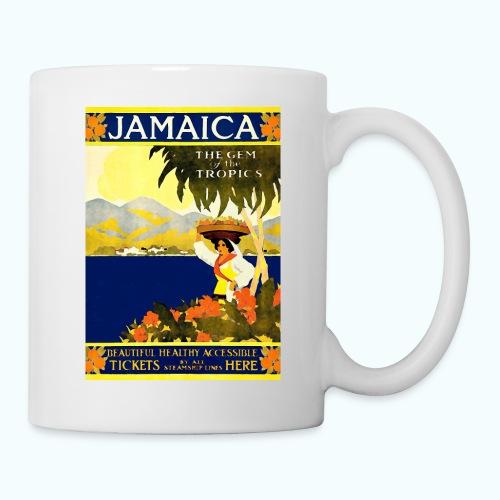Jamaica Vintage Travel Poster - Mug