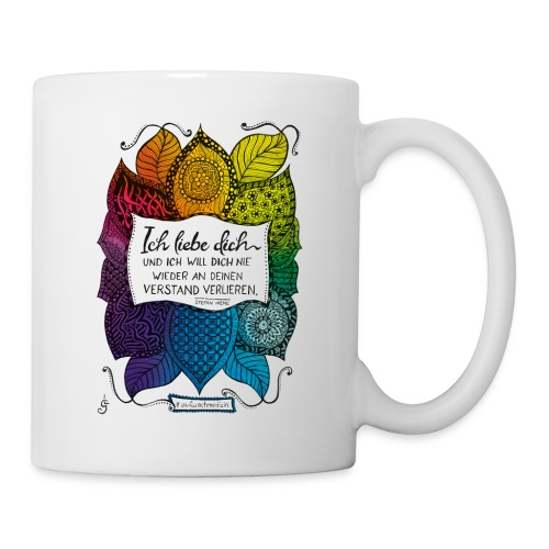 Ich liebe dich - Rainbow Version - Tasse