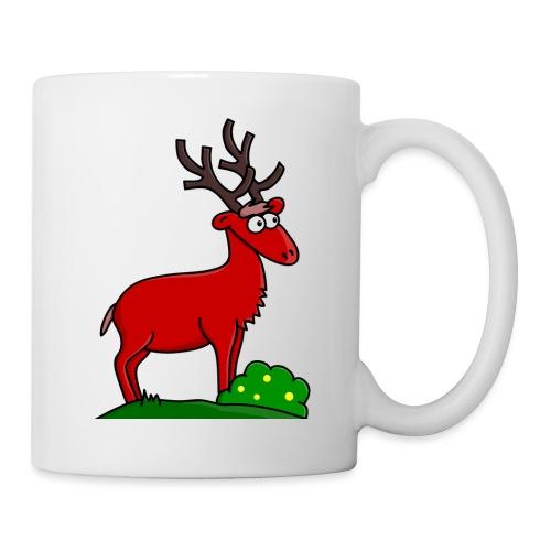 cerf - Mug blanc