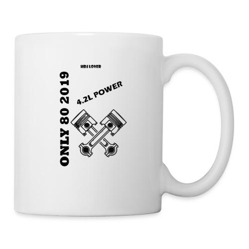 Design Tshirt Only 2019 - Mug blanc