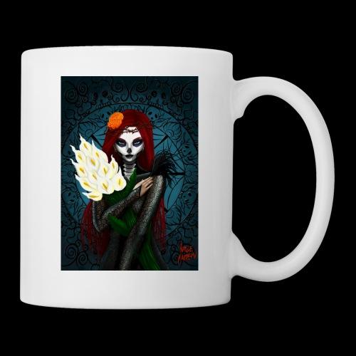 Death and lillies - Mug