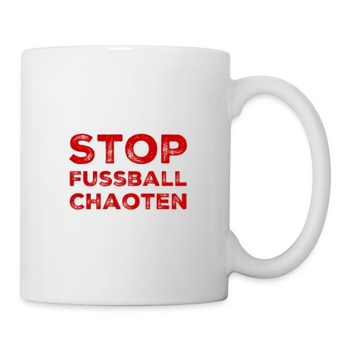 Stop Fussball Chaoten - Tasse