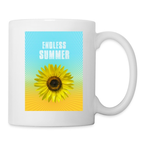 sunflower endless summer Sonnenblume Sommer - Mug