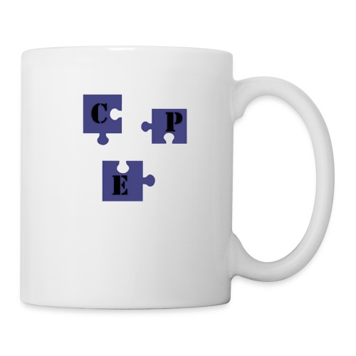 cpeenpuzzletransparent - Mug blanc