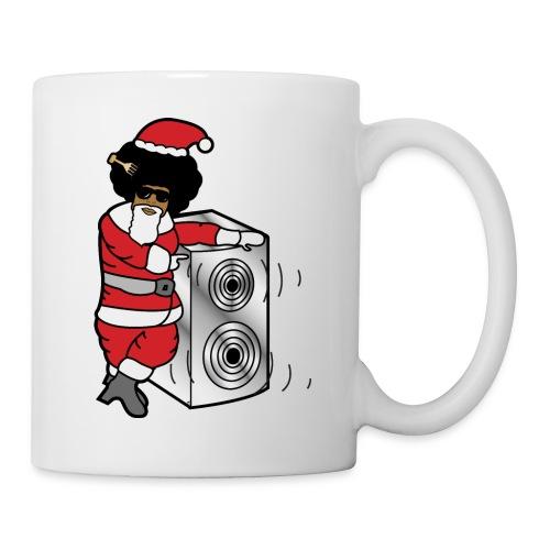 Afro Santa w/ Music Speaker - Mug