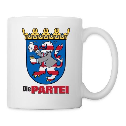 partei hessen wappen - Tasse
