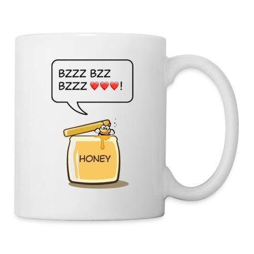 Bi i honungsburk - Mugg