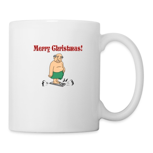 Merry christmas ! - Mug blanc