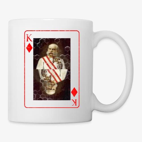 Kaiser Franz von Österreich spielkarte - Tasse