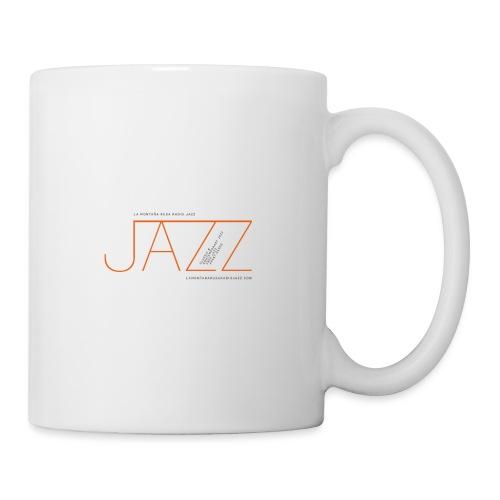 La Montaña Rusa Radio Jazz Modelo, blanco backgr - Taza