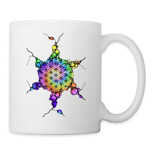 Flower Of Life Neuro Art 3 - Tasse