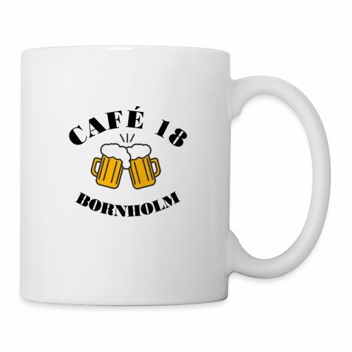 Café 18 Logo 2020 - Kop/krus