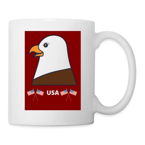 Mug PYGARGUE A TETE BLANCHE(USA) - Mug blanc