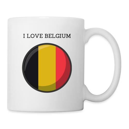 Mug Belgium - Mug blanc