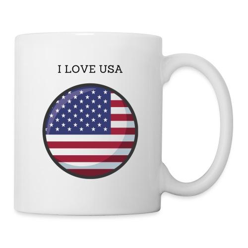 Mug USA - Mug blanc